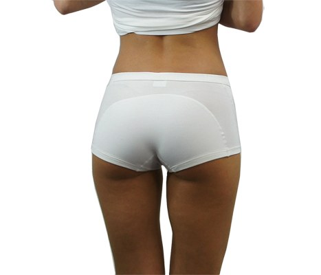 Shorty-anti-transpiration-femme-DayDry-Blanc-L2